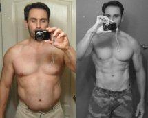 Antara hasil leangains intermittent fasting, sebelum dan selepas