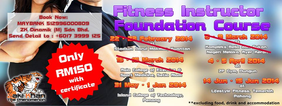 Fitness Instructor Foundation Course 2014