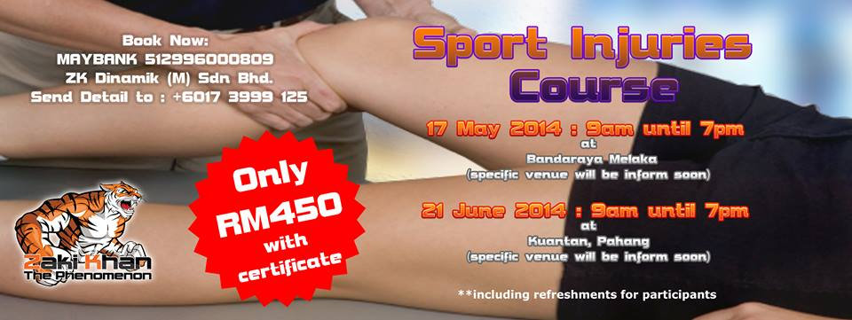 Sport Injury Course 2014