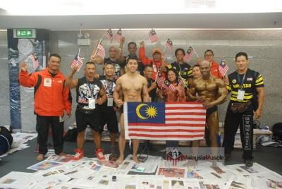 Team Malaysia ke Mr Asia 2014