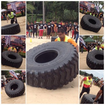 Singapore Strongman Challenge 2014