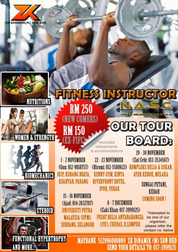 NASC Fitness Instructor