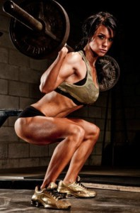 Perempuan buat squat
