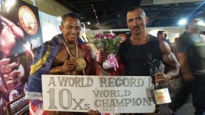 Sazali Samad menang 10 kali kejuaraan dunia.