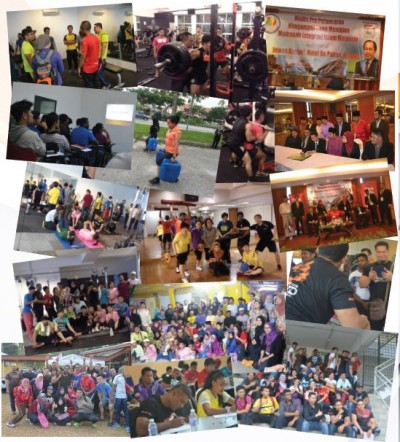 Kursus Kecergasan dan Acara tahun 2015