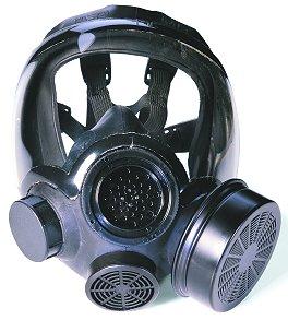 Dapatkan topeng gas ini sekiranya pasangan anda berbau.