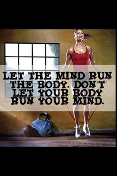 Jangan Biarkan Badan Mengawal Minda