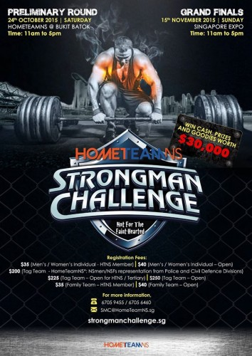 Singapore Strongman Challenge 2015