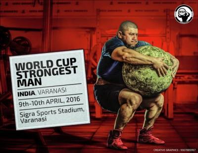 Strongman Worldcup Varanasi