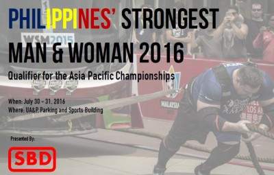 Phillippines Strongestman 2016