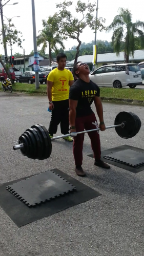 Aiman - 190kg Deadlift AMRAP