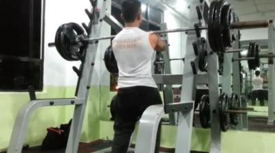 Aiman - Front Squat 120kg