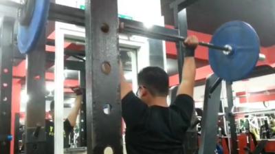 Aiman - Overhead Press 65kg