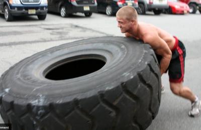 Tyre Flip
